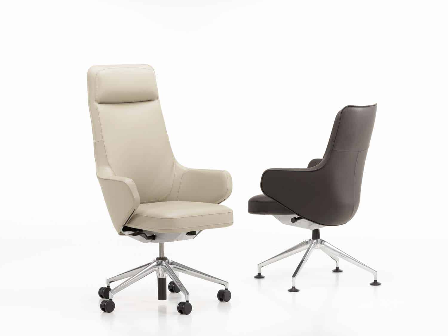 chaise de bureau vitra 2 line office. Black Bedroom Furniture Sets. Home Design Ideas