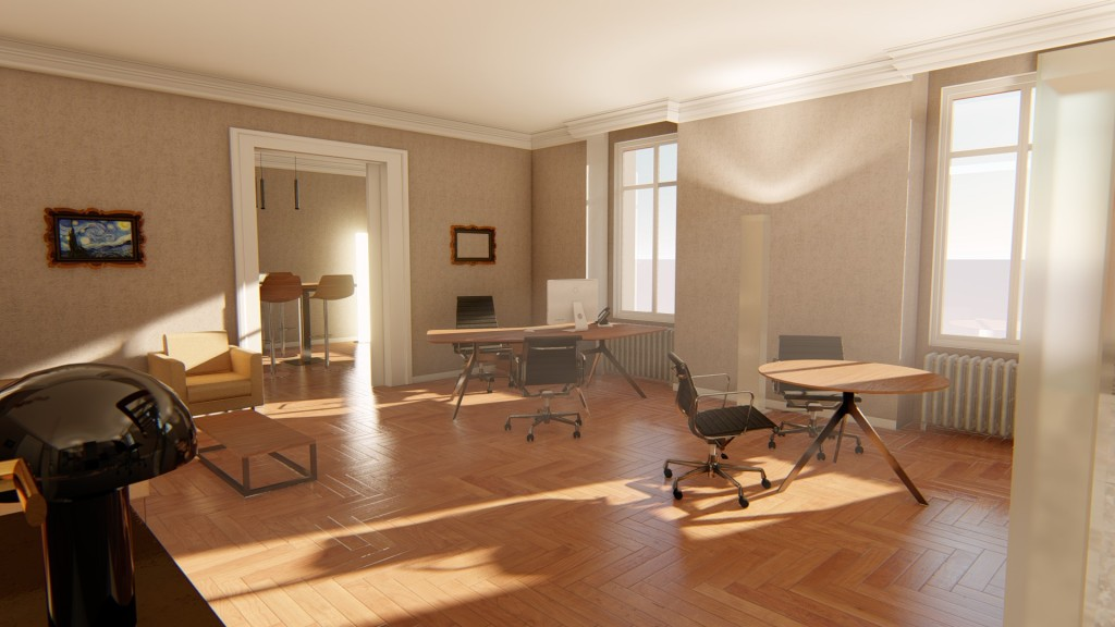3D-Bureau de direction-3