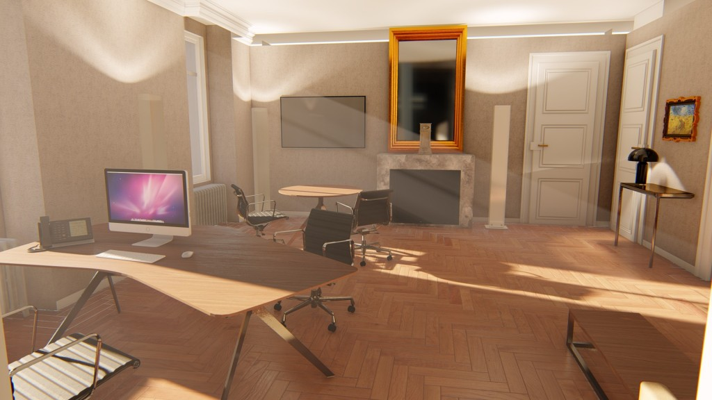 3D-Bureau de direction-1